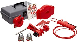 Brady Valve Lockout Toolbox Kit