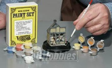 Woodland Scenics HO Scale Mini-Scene Paint Set