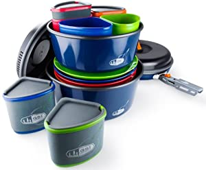 GSI Outdoors Bugaboo Camper Cookware Set by GSI