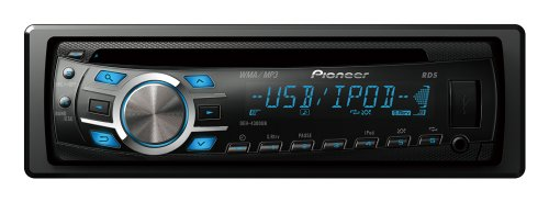 Pioneer DEH-4300UB CD Receiver with iPod/iPhone Control and MultiColor LCD