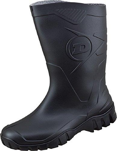 Dunlop - Stivali di gomma Uomo , Nero (nero), 44