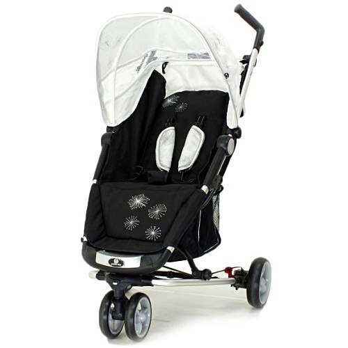 Petite Star Zia X Ivory Starburst 3 Wheeler Pushchair