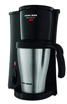 Black & Decker DCM18S Brew 'n Go Personal Coffeemaker with Travel Mug - Only $16.95!!!