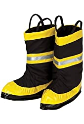 Fire Chief Boots Large Costume Accessory