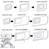Kit 3 en 1 Adaptateur carte SIM Nano, Micro
