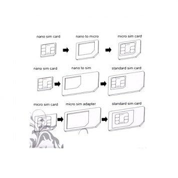 adaptateur carte nano sim Kit 3 en 1 Adaptateur carte SIM Nano, Micro   descuento