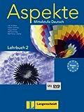 Aspekte 2 (B2). Mittelstufe Deutsch. Lehrbuch mit DVD