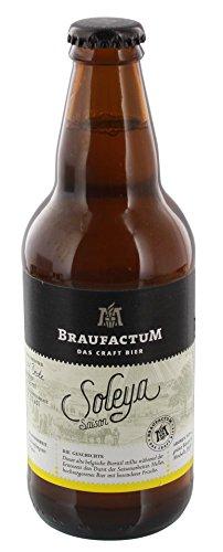 Braufactum - Soleya Saison Craft Bier 6,5% Vol. - 0,355l thumbnail