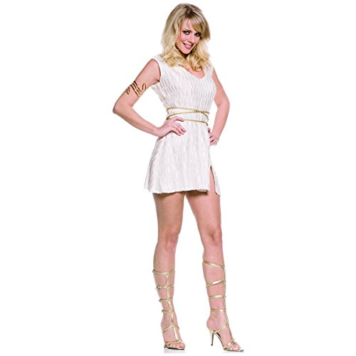 GSG Greek Goddess Costume Adult Aphrodite Athena Halloween Fancy Dress (Aphrodite Costume Child)