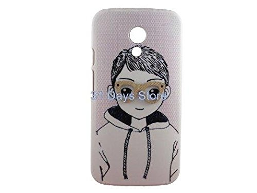 Techno TrendZ 3D HARD CASE FOR MOTOROLA MOTO G2 2ND GENERATION BACK CASE COVER 3D DESIGNER HARD CASE G 2 - THE BOY