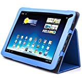 Supremery® Medion Lifetab E10320 E10318 E10317 E10316 Tasche Case Cover Hülle Schutzhülle mit Standfunktion Farbe: Blau