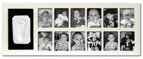 Baby Art First Year Print Frame (White)