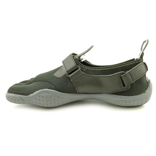 Fila Skeletoes Ez Slide Drainage Men's Shoes Minimalist Five Finger Shoes, Black / Castlerock, Sz 10