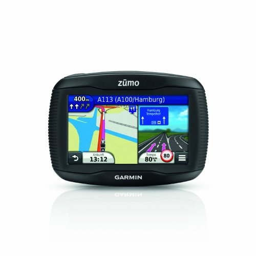 Garmin-zumo-340LM-Motorrad-Navi-109cm-43-Touchscreen-SD-Kartenslot-USB-Zentraleuropa-Kartenmaterial