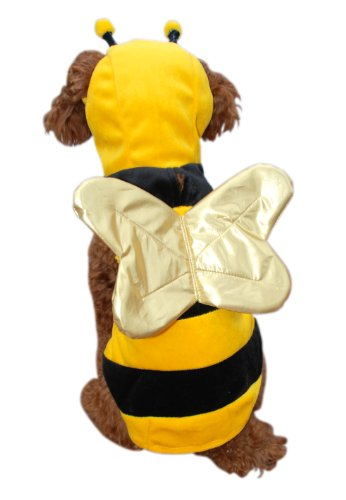 Anit Accessories Bumble Bee Dog Costume, 12-Inch