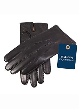 Dents Men's Cashmere Lined Gloves - Black