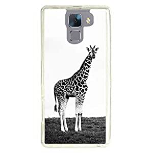 a AND b Designer Printed Mobile Back Cover / Back Case For Huawei Honor 7 (HON_7_2239)
