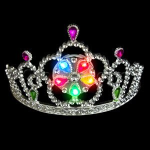 LED Light Up Tiara - Multicolor - 1