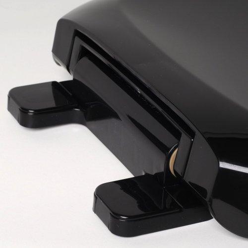 Comfort Seats C1B3R4S 90 EZ Close Deluxe Plastic Toilet Seat Round Black
