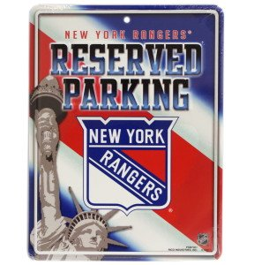 NHL New York Rangers Parking Sign