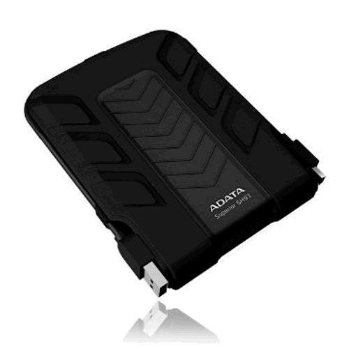 1TB-ADATA Series SH93 2.5 inch Portable Hard Disk Drive - Black