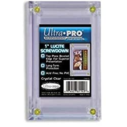 Ultra-Pro 1-Inch Lucite Screwdown (Quantity of 10)