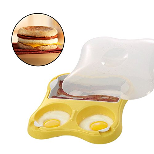 Progressive International Microwavable Breakfast Sandwich Maker