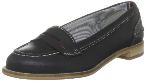 Tommy Hilfiger Women's Maddy 1 A Core Navy Penny Loafer FW56813636 6 UK