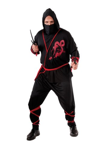 Rubie's Costume Adult Full Cut Ninja Costume