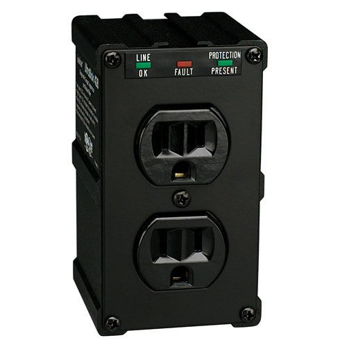 Tripp Lite ULTRABLOK Isobar Surge Protector Suppressor 2 outlets Direct Plug In 1410 JoulesB00006B81E : image