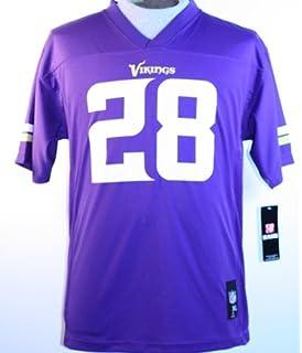 girls youth minnesota vikings adrian peterson nike purple replica ... 16e8741be