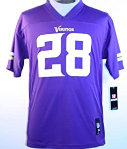 Adrian Peterson Minnesota Vikings Youth NFL Mid Tier Replica Jersey by OuterStuff