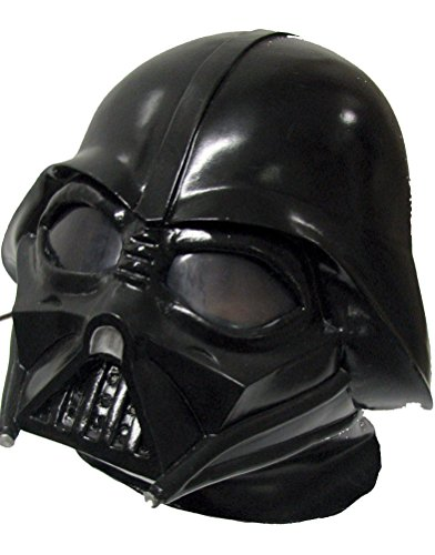 Darth Vader Star Wars Latex Helmet for Teens or Adults