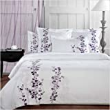 Manor Hill Lilac Collection Duvet Set, Queen