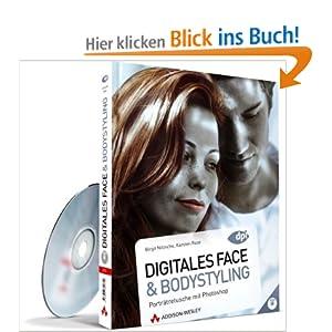eBook Cover für  Digitales Face und Bodystyling Portr auml tretusche mit Photoshop neu zu CS5