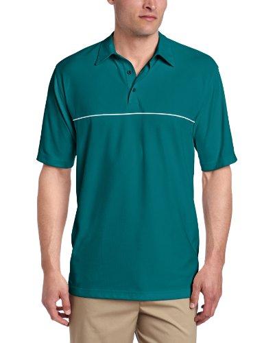 Greg Norman Collection Men's Protek Engineered Stripe Polo Shirt
