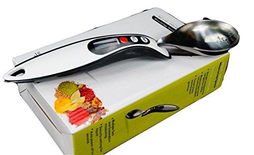 Outil numérique Cuisine Cuillère mesure avec écran LCD, la conversion g / ml / oz