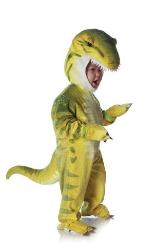Green T-Rex Plush Costume Child Baby 2T-4T Color: Green Size: 2T-4T Model: