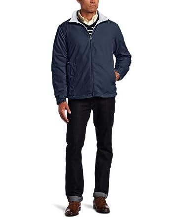 Nautica Men's Big-Tall Vineyard Reversible Jacket, Navy, 4X-Large