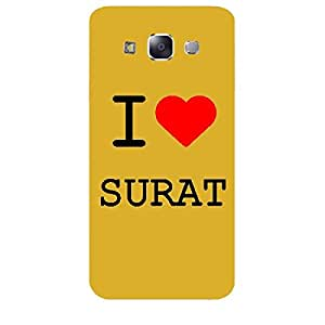 Skin4gadgets I love Surat Colour - White Phone Skin for SAMSUNG GALAXY E5 (E500 )