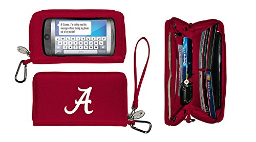 NCAA Officially Licensed Deluxe Touch Smartphone Wallet Case (Alabama Crimson Tide)