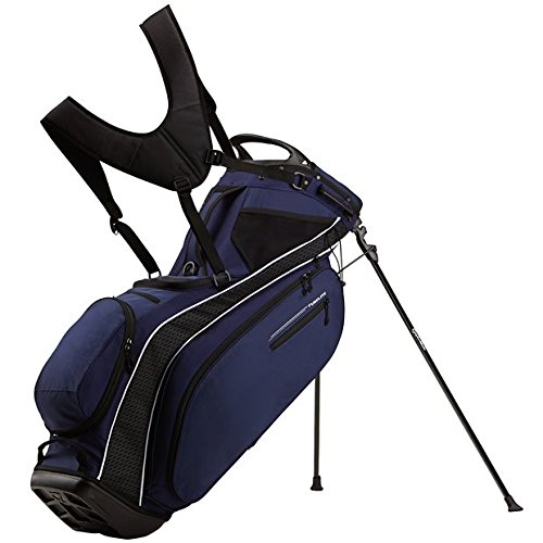 TaylorMade Pure-Lite 2016 Custom Navy Golf Bag (Taylormade Purelite Stand Bag compare prices)