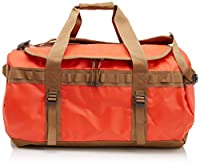 The North Face Unisex Base Camp Duffel - Medium Acrylic Orange/Utility Brown Duffel Bag by The North Face