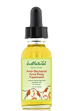 This anti-bacterial treatment is formulated for the body yet gentle enough for your face. Body acne develops in a similar way to facial acne. However, the skin on the body can be thicker than that on the face and often has larger pores, making for mo...