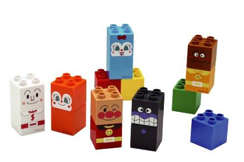 BlockLabo ブロックラボ アンパンマン アンパンマンとおともだちブロックセット