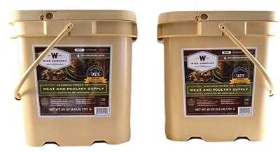Wise Company 120 Servings Grab N' Go Emergency Survival Food