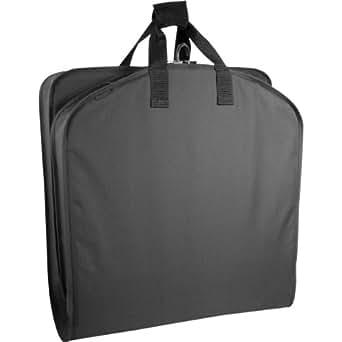 WallyBags 40 Inch Garment Bag, Black, One