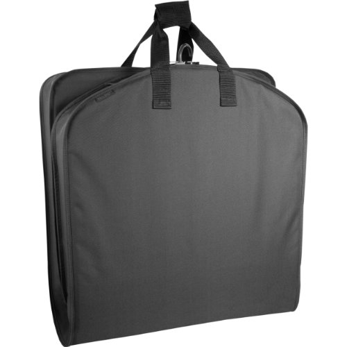 WallyBags 40 Inch Garment Bag, Black, One Size (Suits Garment Bag compare prices)