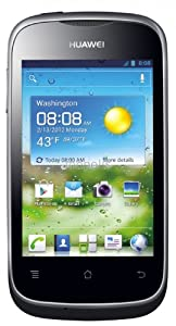 Huawei Ascend Pro Y201 3G Factory Unlocked Android Phone - Black