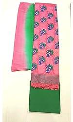 BEAUVILLE VAIIBAVAM Women's Unstiched Salwar Material (BVPCUC_57_Multi_Free Size)